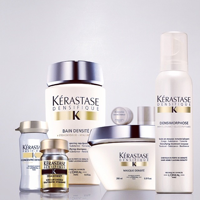 He newest line by #Kerastase! #densifique #annarbor #hair We are so excited about this!! #ultrahealthyhair #nomorethinhair