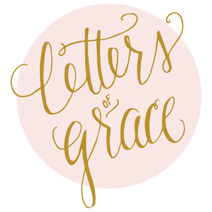Letters of Grace Calligraphy