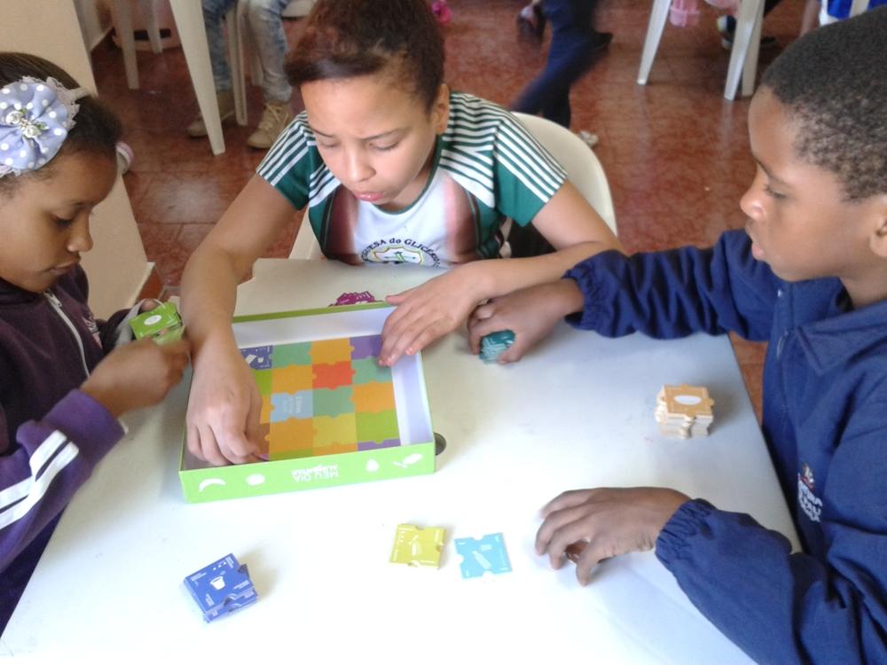 Interação com o quebra-cabeças
