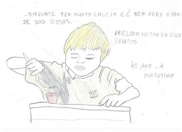 Trabalho de aluno da EM Prof Antonio da Graça Machado, Mossoró (RN)
