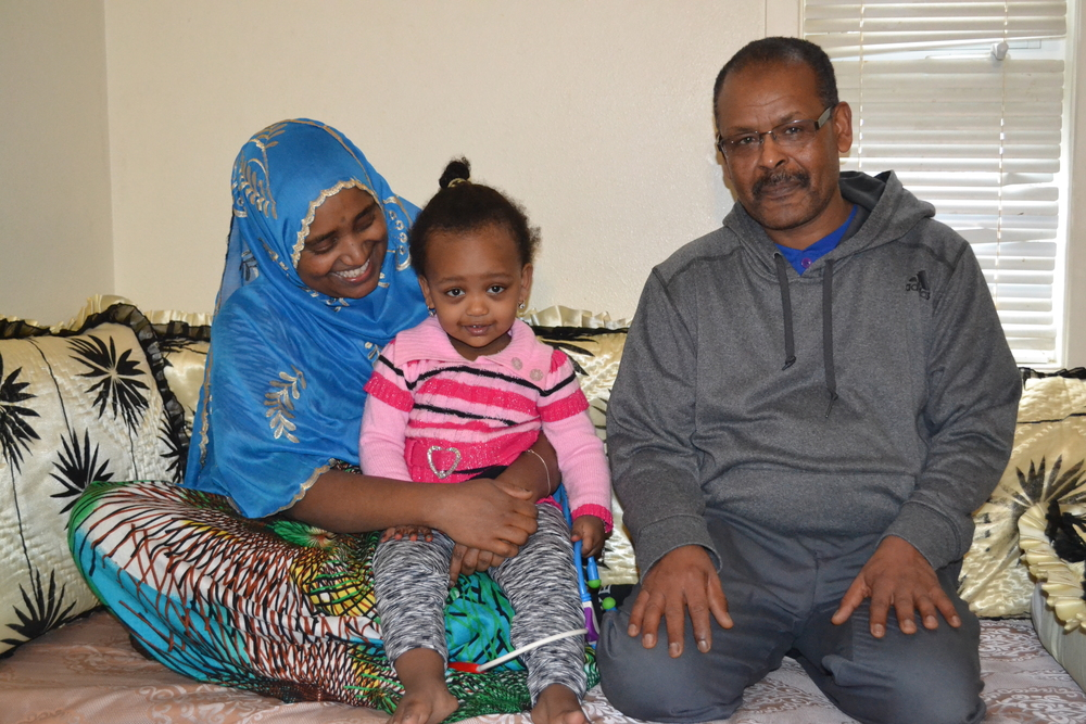 Mohammed and Family, 2016 Program Recipients
