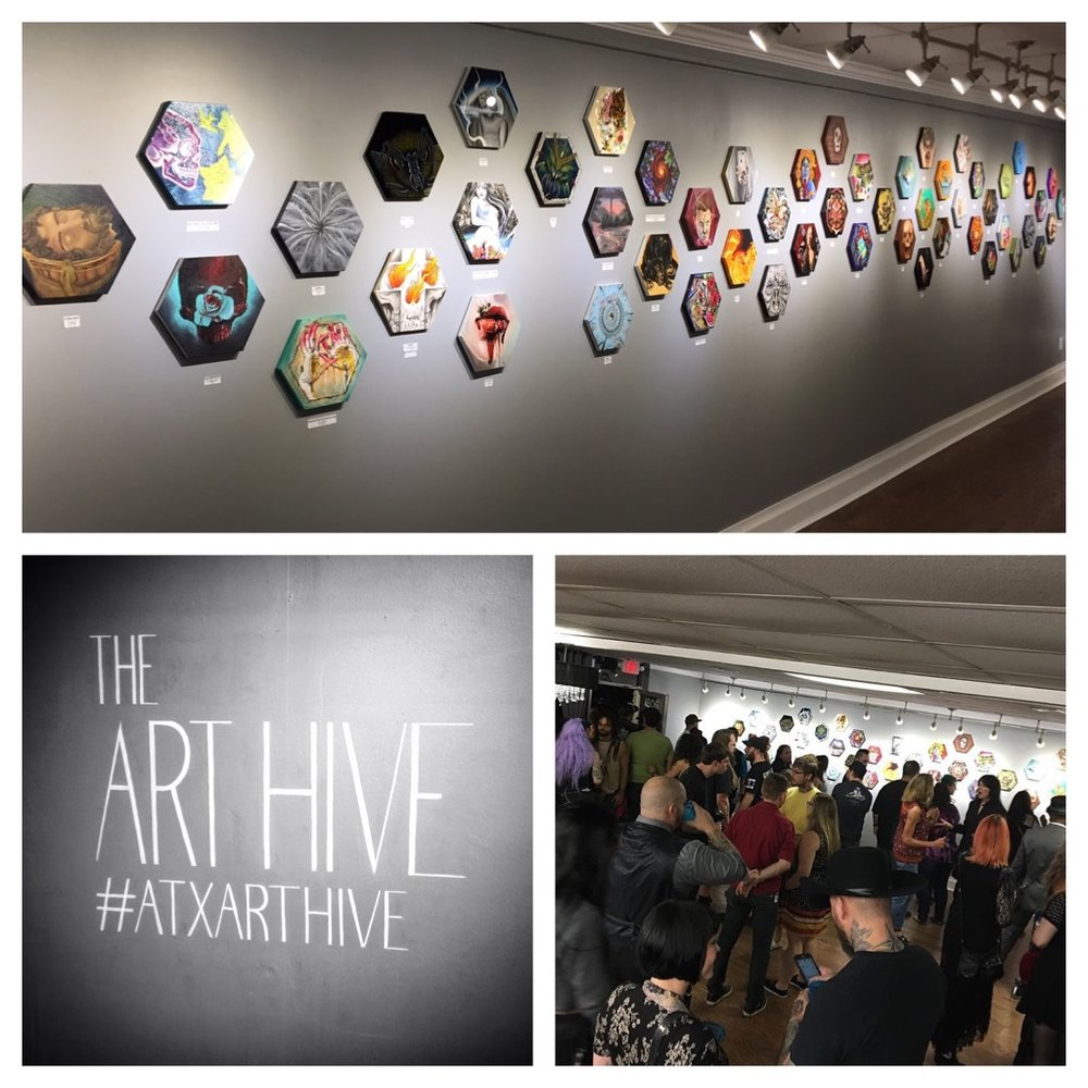 Art Hive exhibition. 2016