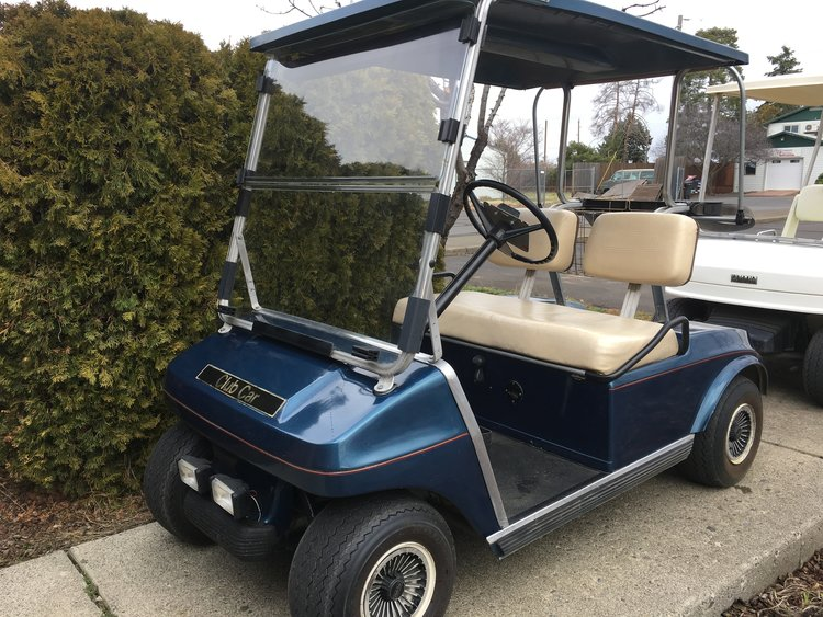 Sold 1989 Club Car Ds Electric Golf Car Tom S Cycle Shop