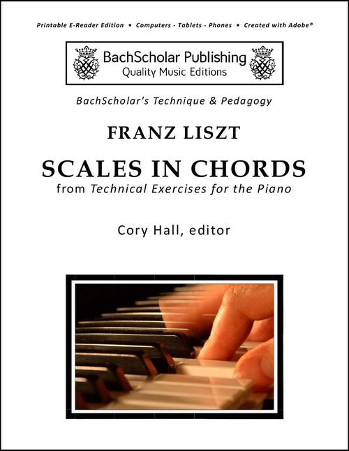 Liszt Scales In Chords Bachscholar
