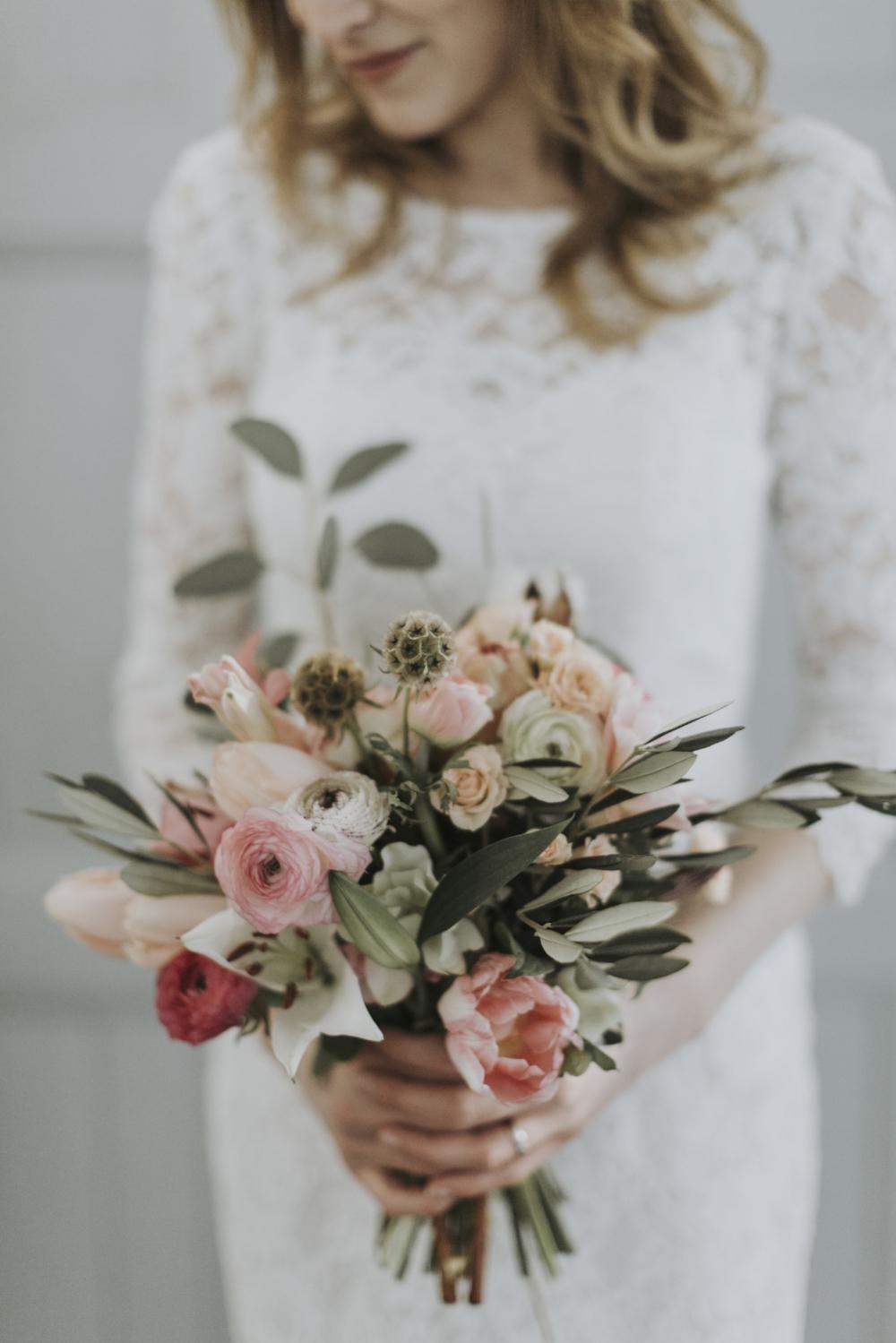 Skillad, blomsterdesign