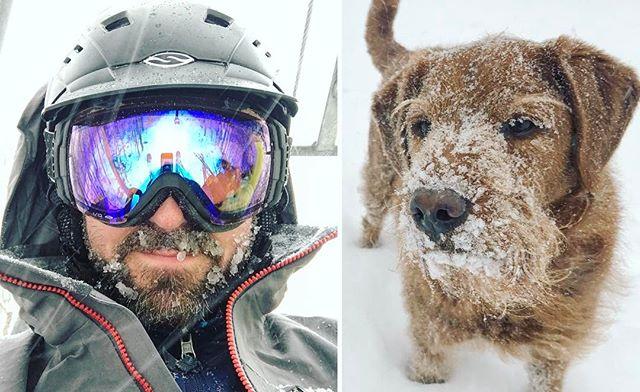 #snowbeard day