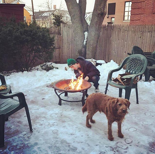 Urban campfire with @snolan
