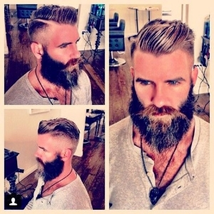 Haircut-check....beard-day 6 (this is not me)
