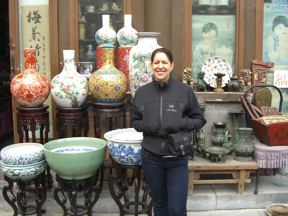 China, flea market