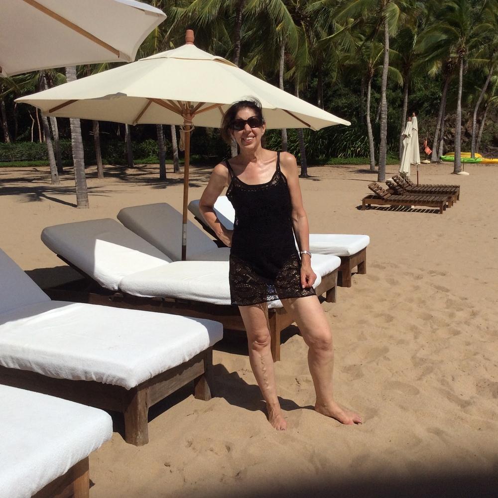 Cuixmala in Mexico, Private Beach