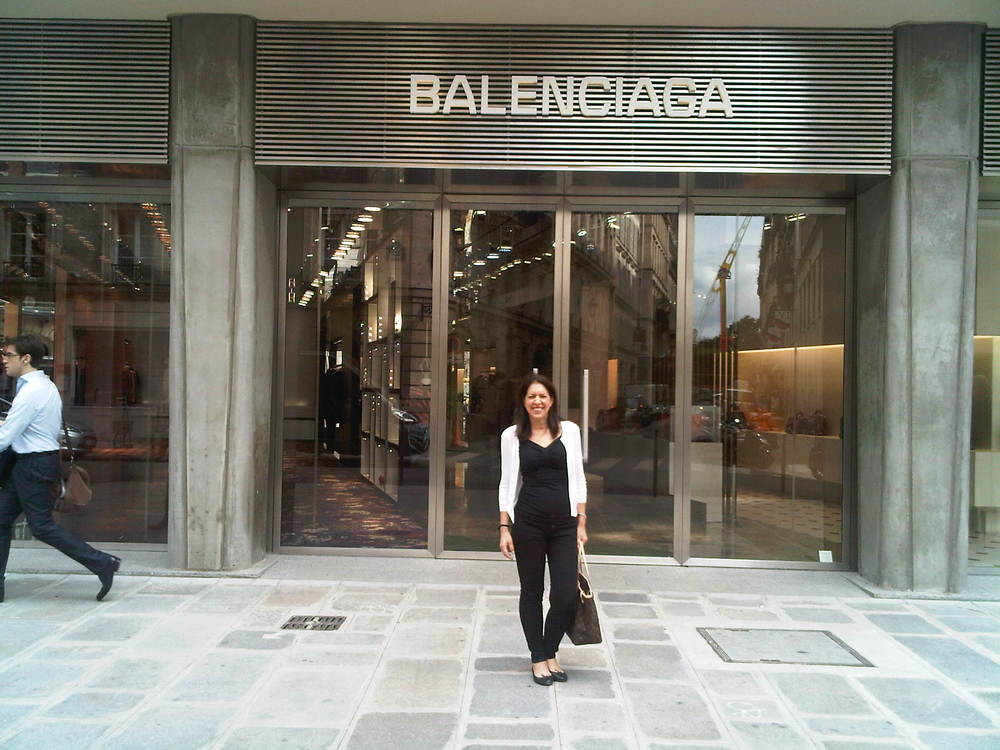 Paris, Balenciaga boutique