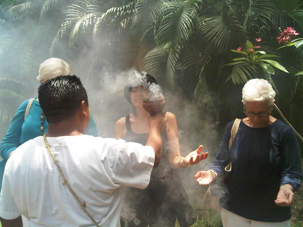 Riviera Maya-Shaman blessing
