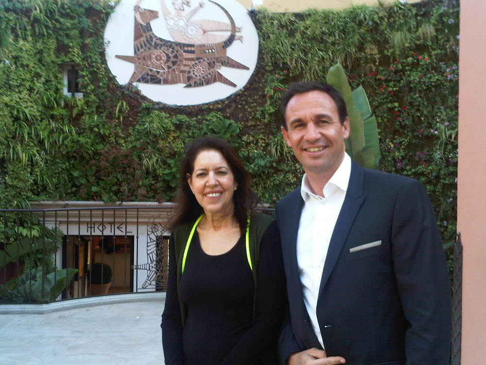 St Tropez, Byblos Hotel with GM