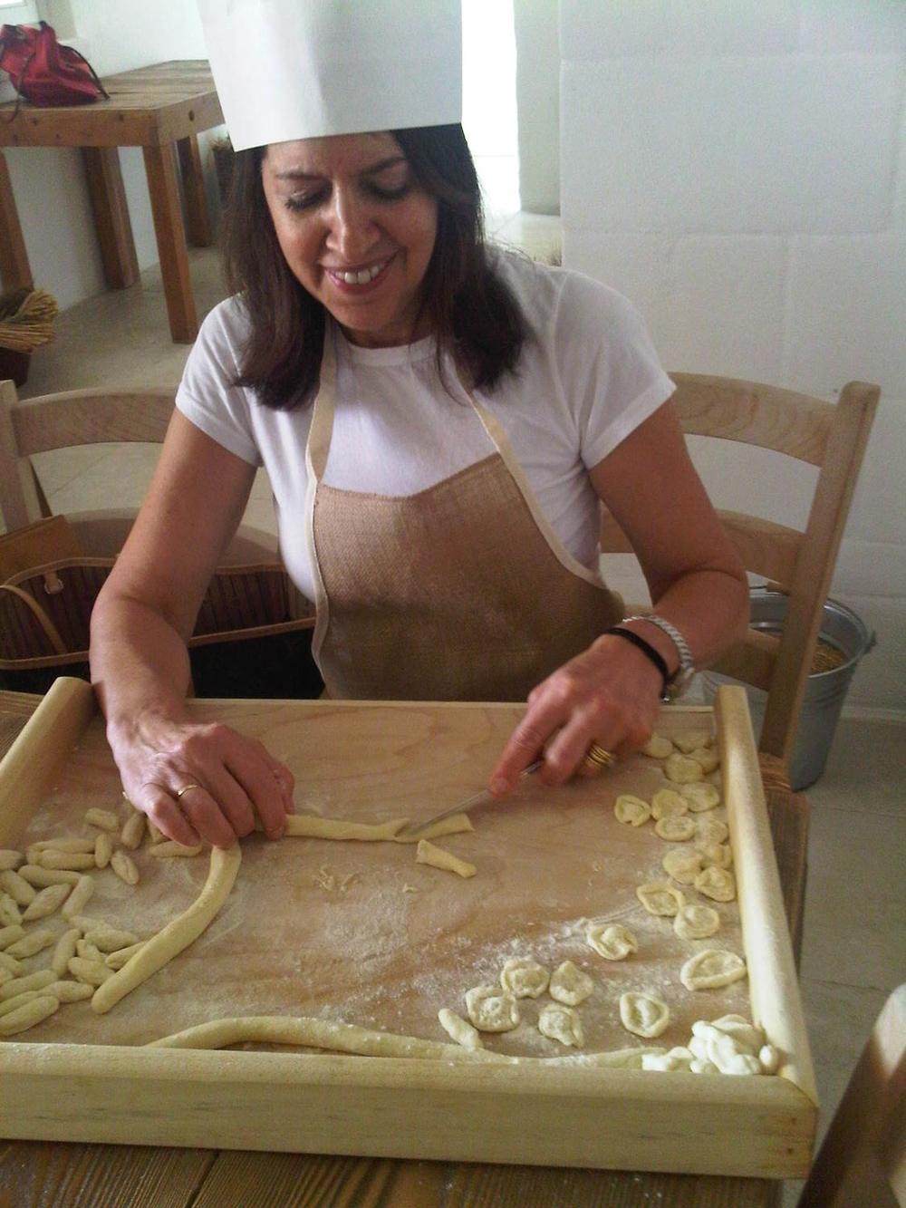 Puglia, Italy cooking school