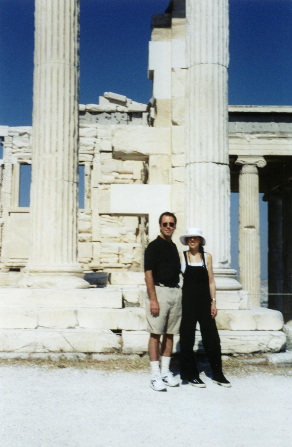 Greece, Acropolis with Steven