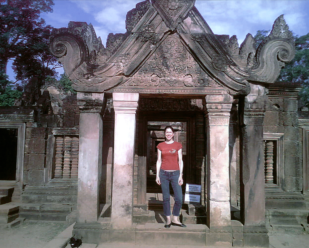 This is me in Angkor Wat