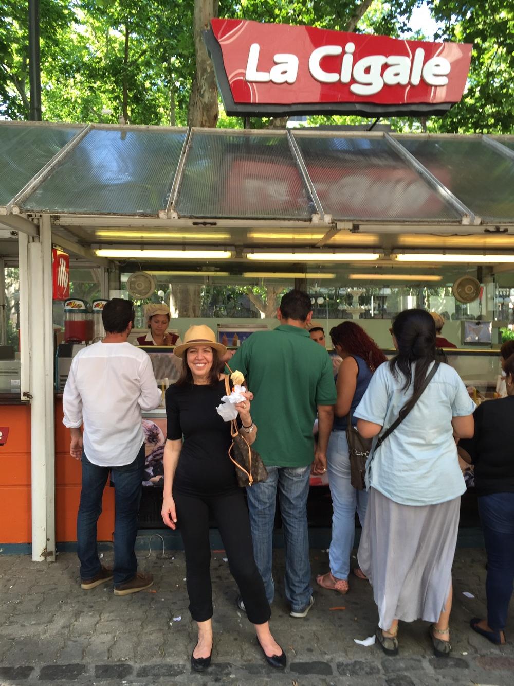 Best gelato in Montevideo, Uruguay