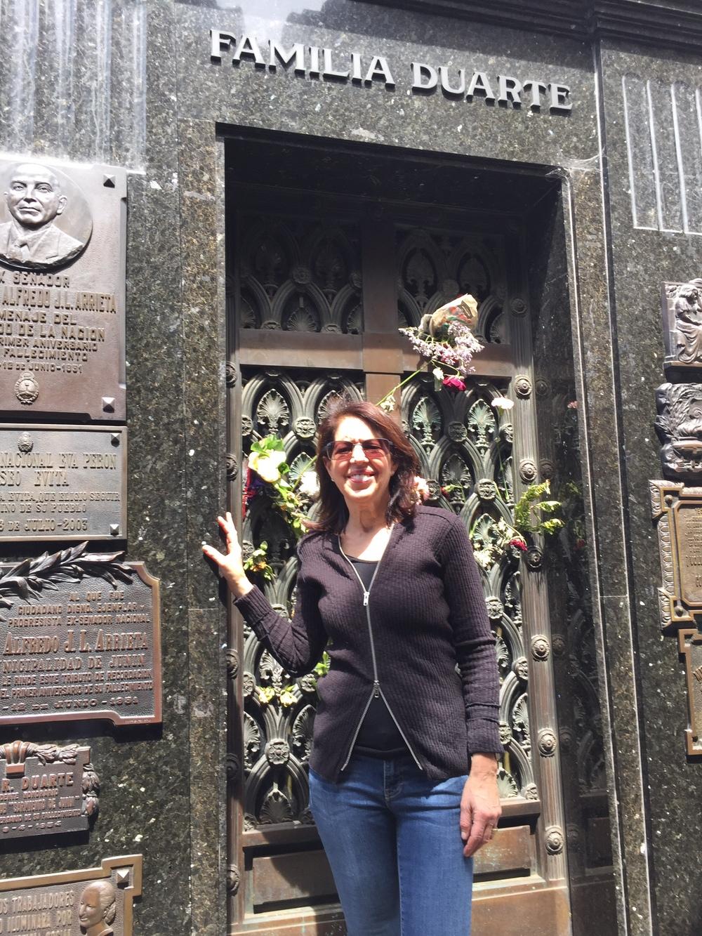 Evita Peron's tomb, Buenos Aires