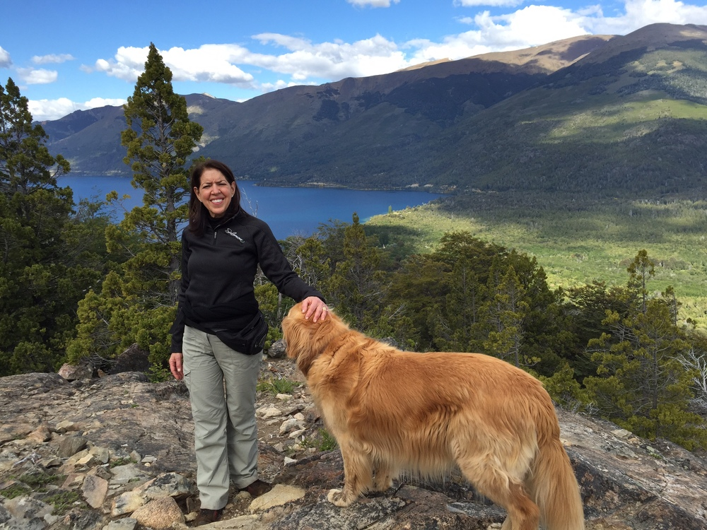 Hiking in Bariloche, Argentina
