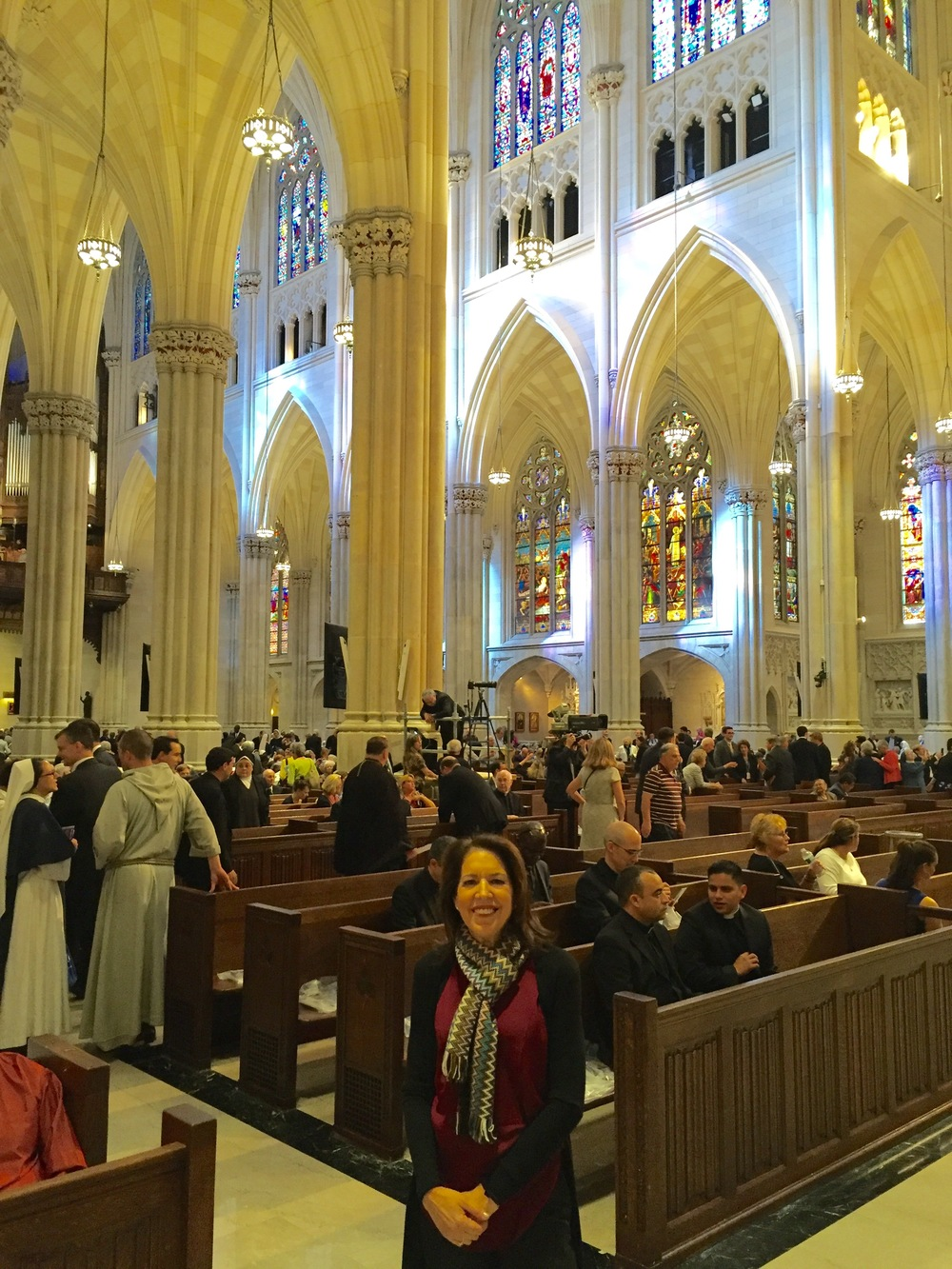 St. Patricks Cathedral - Pope Francis' visit 2015