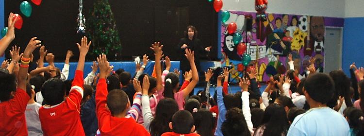 Audience of children.JPG