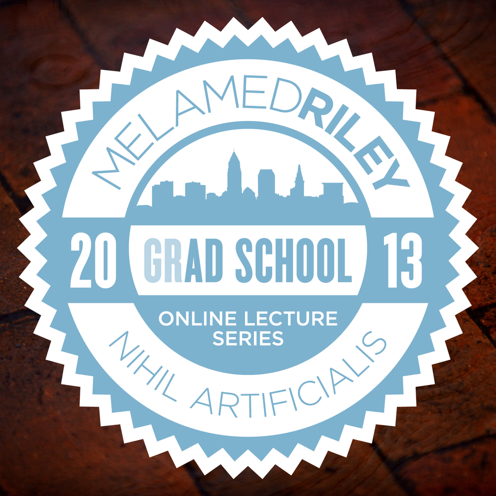 Grad School — Logo