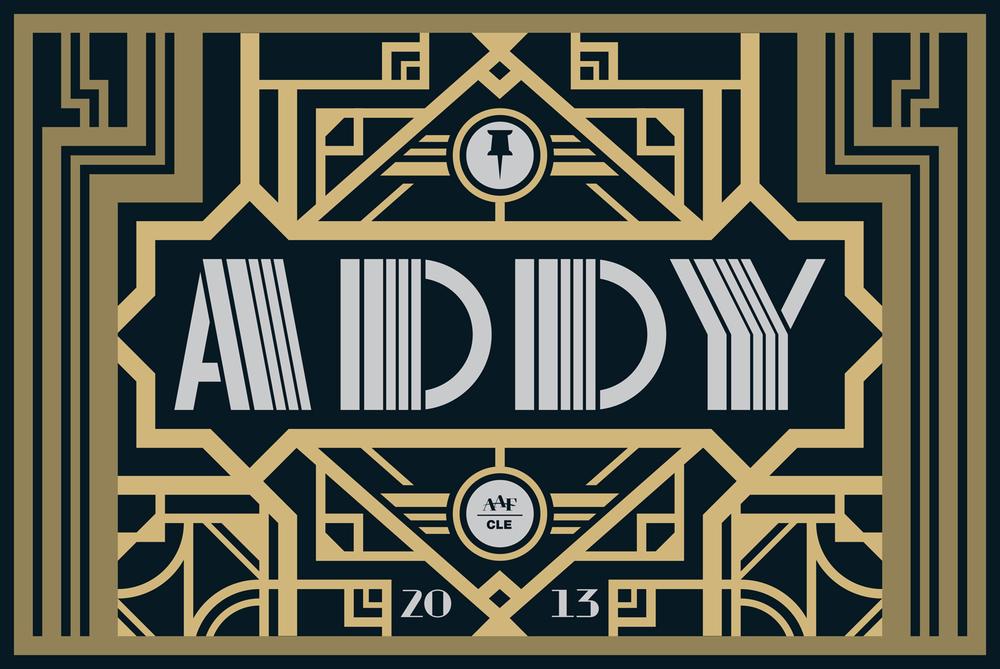 AAF Cleveland — ADDY Logo