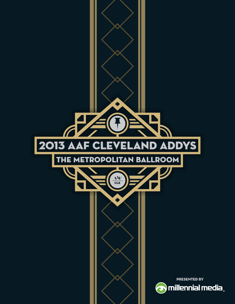 AAF Cleveland — ADDY Program Cover