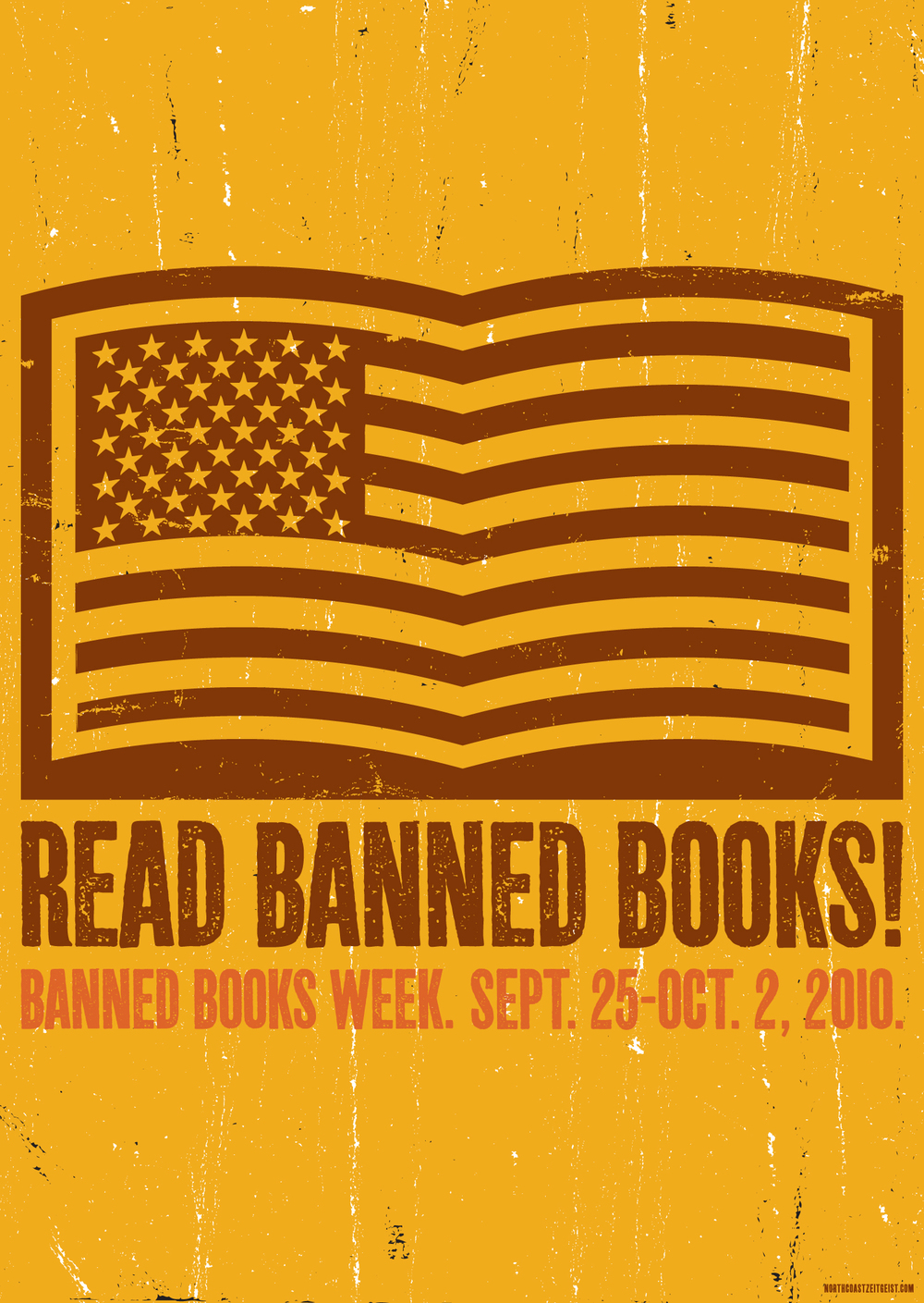 Banned Books Week — American Flag