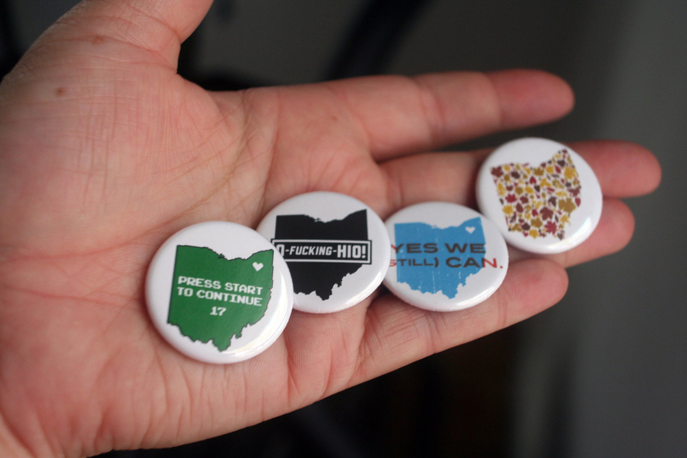 Ohio Pride — Buttons