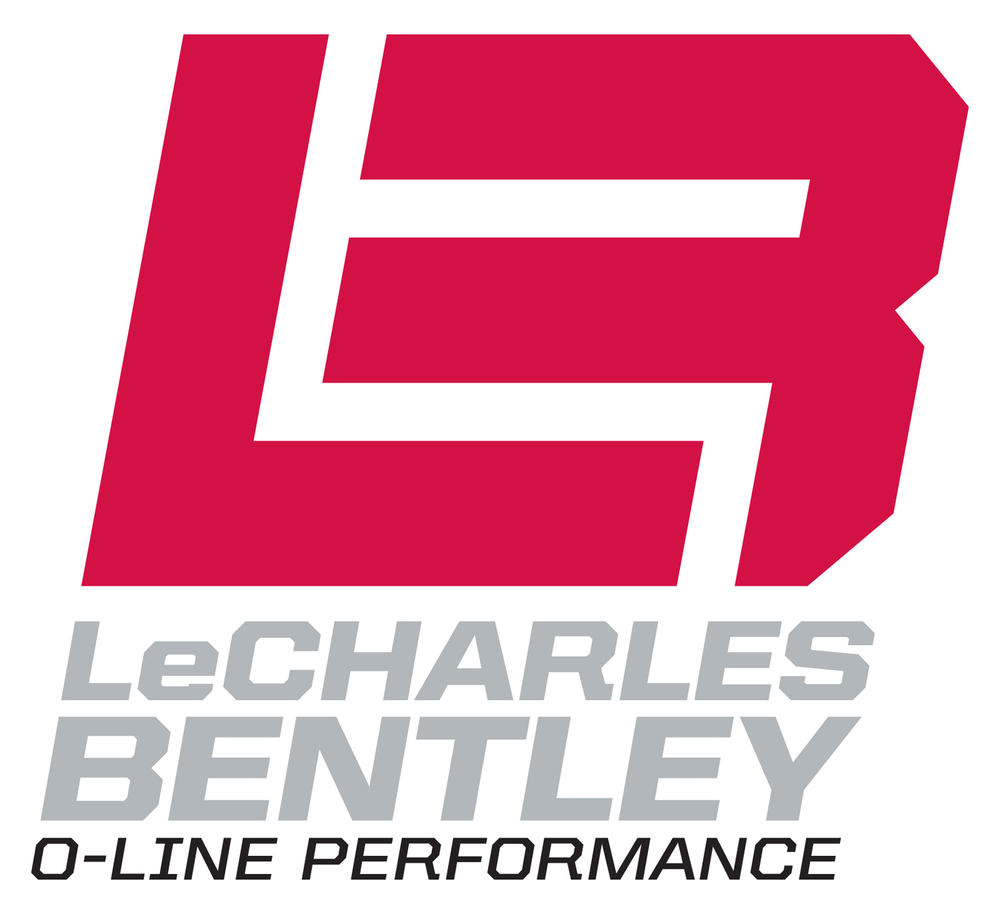 LeCharles Bentley — Vertical Logo