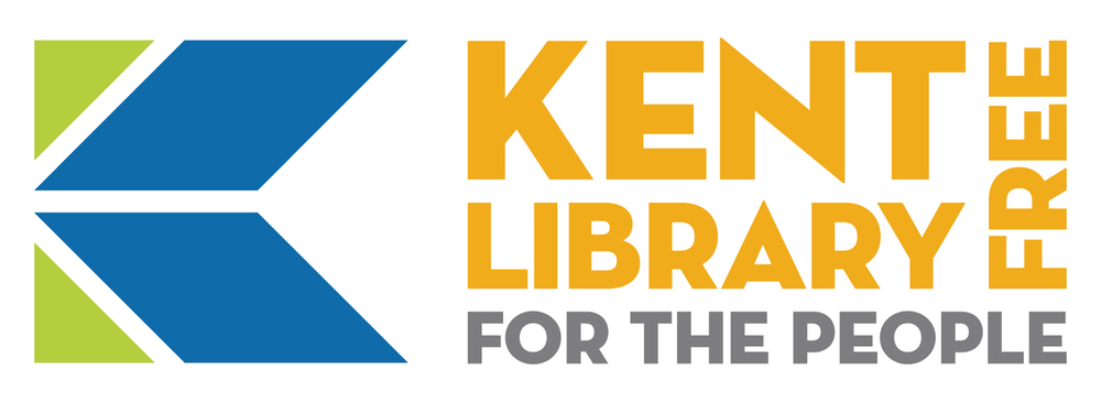 Kent Free Library — Logo with Tagline