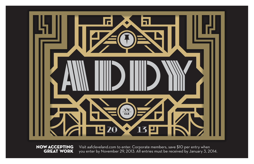 AAF Cleveland — ADDY Poster