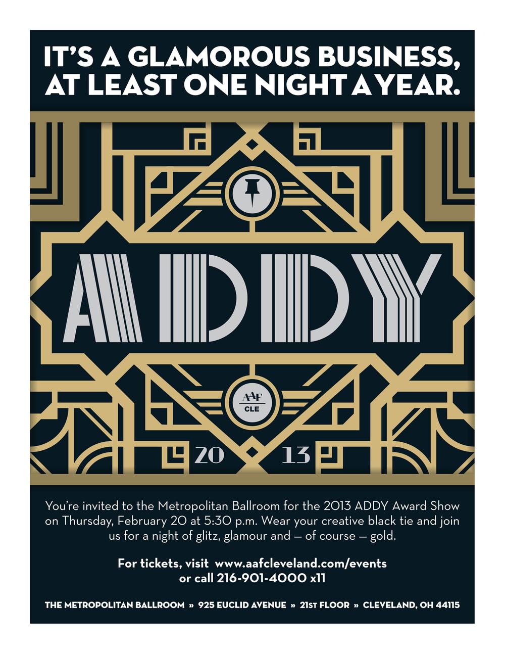 AAF Cleveland — ADDY Flyer