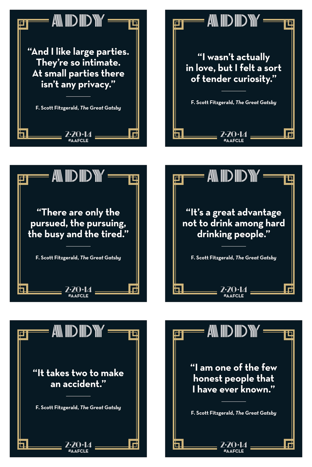 AAF Cleveland — ADDY Social Images
