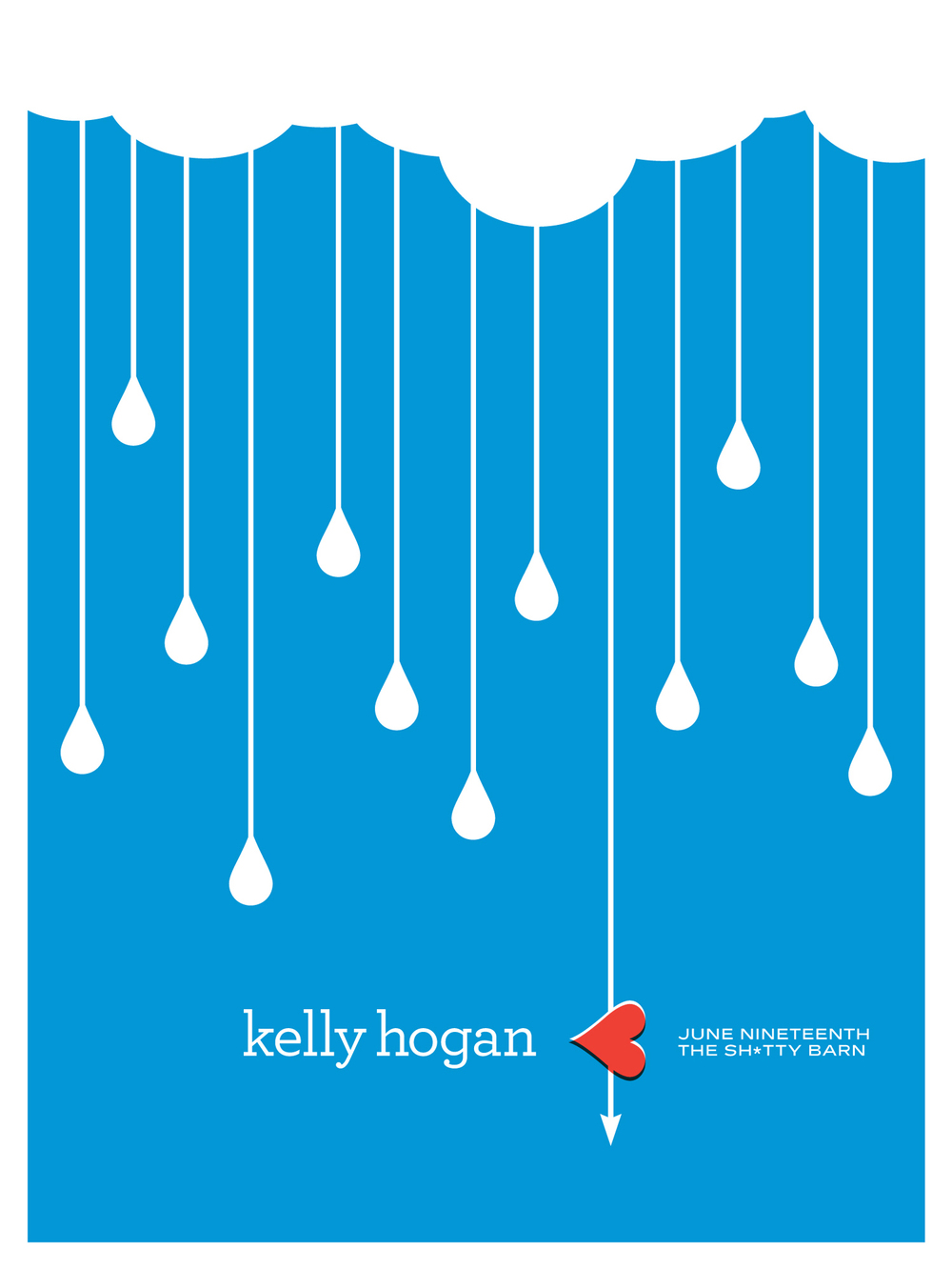 Shitty Barn Sessions — Kelly Hogan Poster