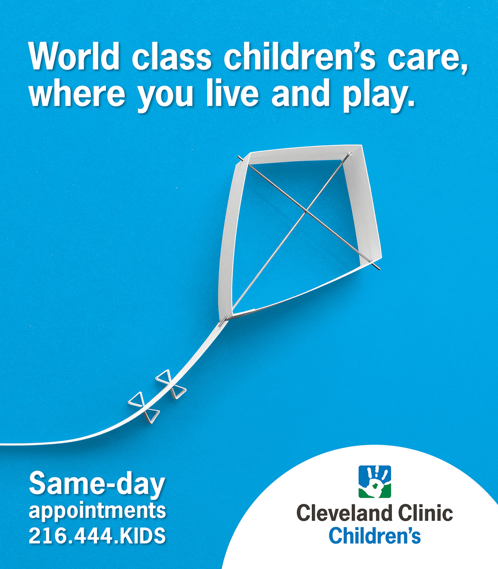 Cleveland Clinic Children's OOH — Sky Banner