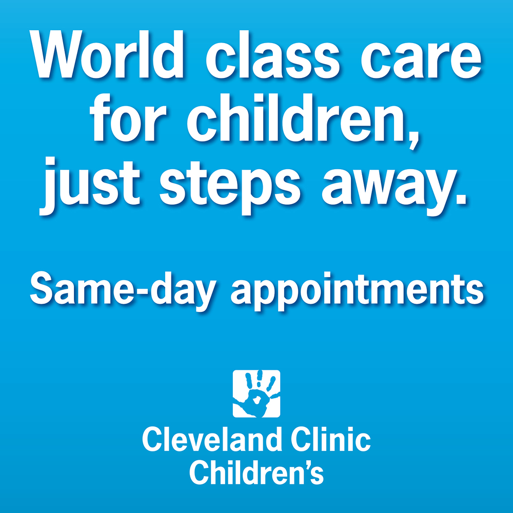 Cleveland Clinic Children's OOH — Floor Decal