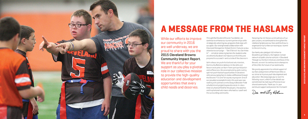 Browns Community Impact Report — 2