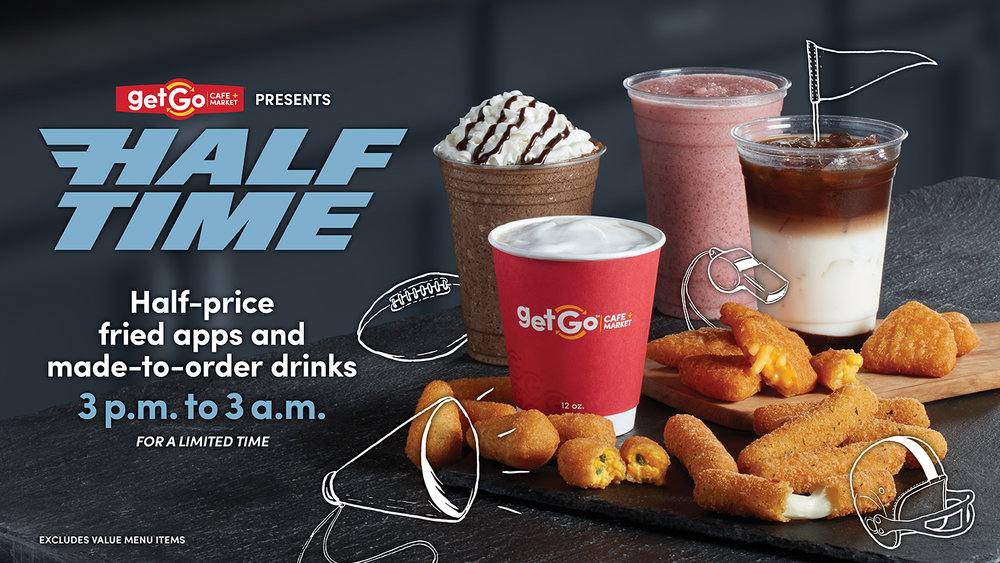 GetGo Presents Half Time