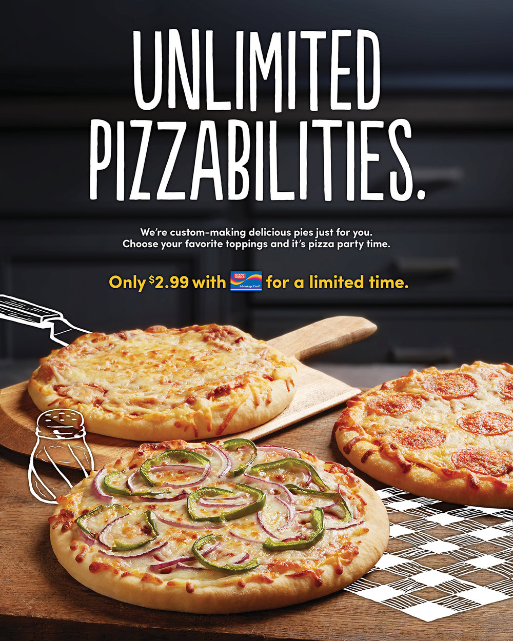 Unlimited Pizzabilities