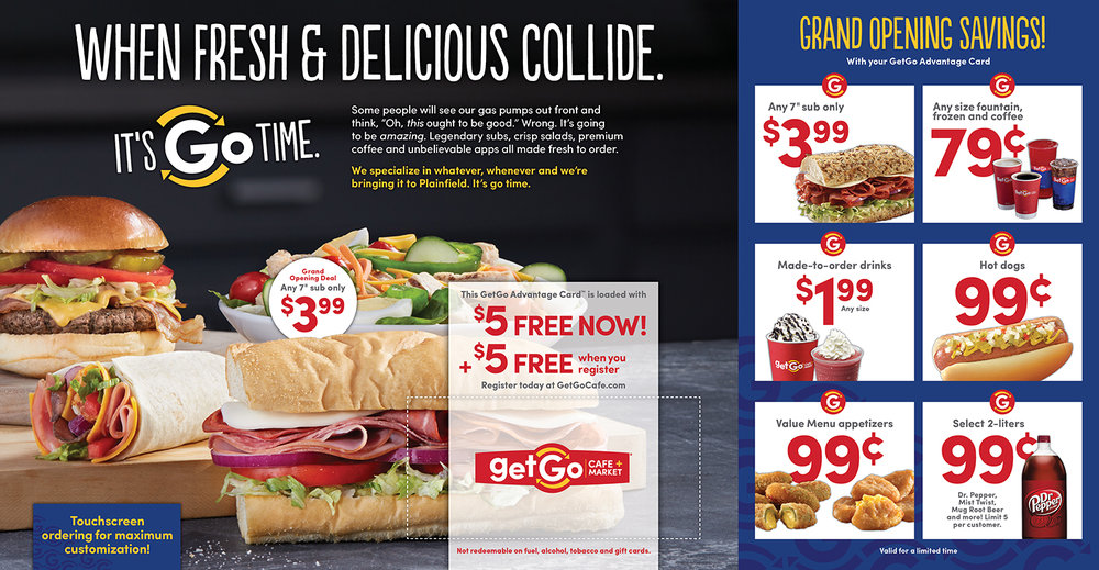 GetGo Store Openings — Direct Mail 2
