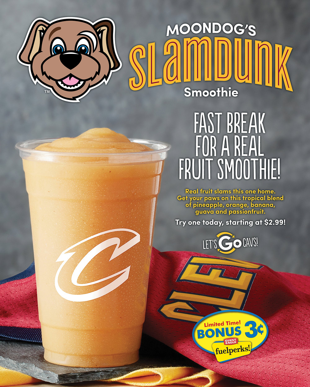 Moondog's Slamdunk Smoothie