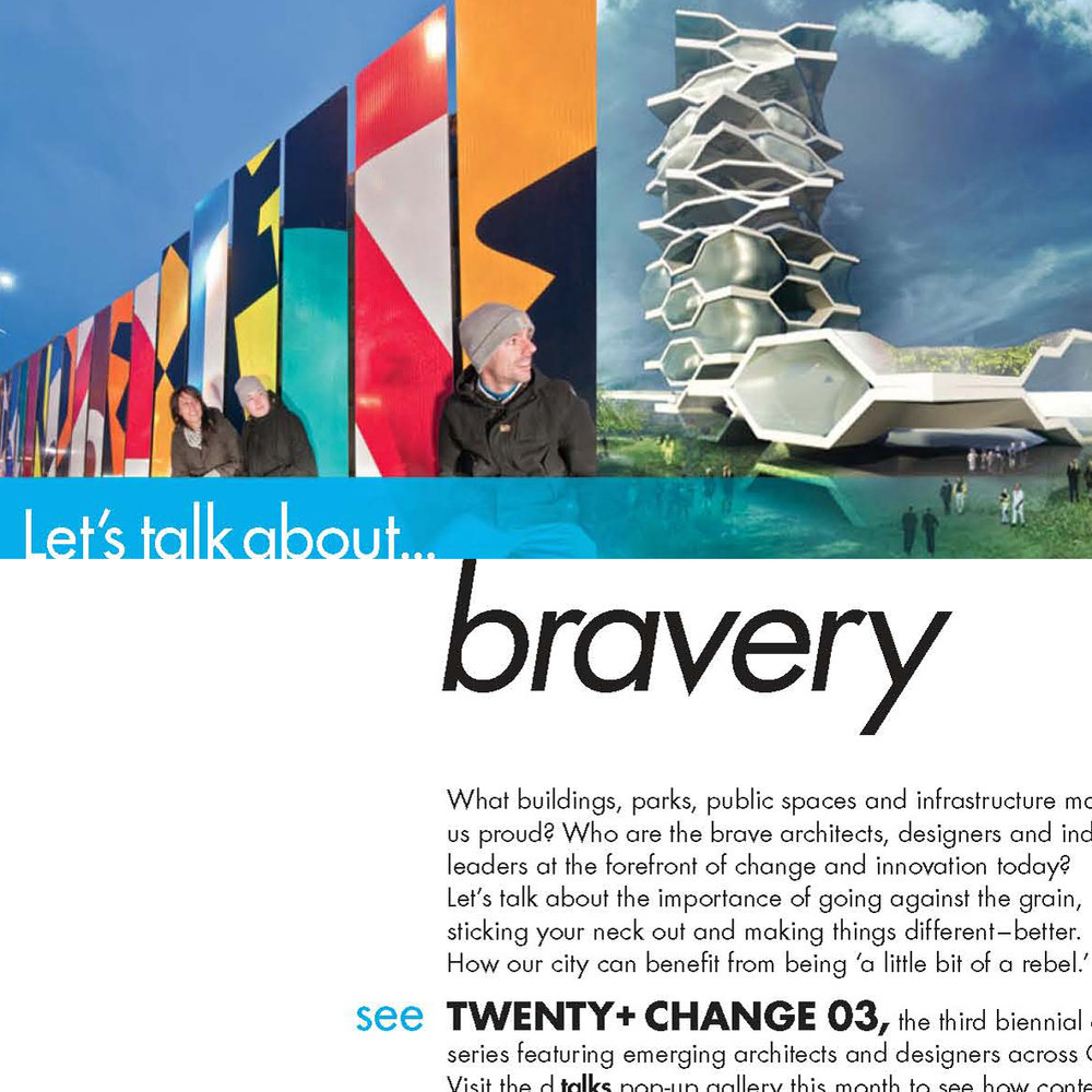 Let's talk about...Bravery (image: Acre Architects / We Designs)