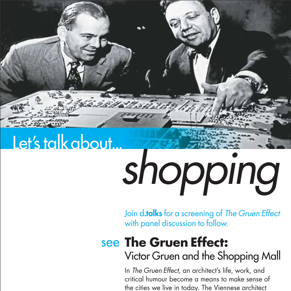 Let's talk about...shopping (poster: Julie Wons)