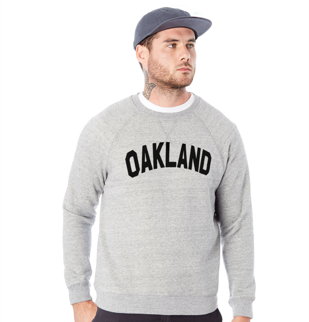 Sky Oak Co_Oakland_Block_crewneck_v-notch_grey_model.png