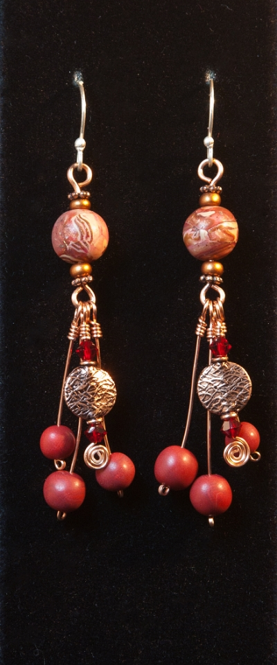 Chokeberry Delight earrings