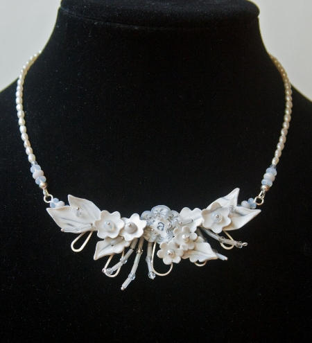 Audrey's Bridal necklace