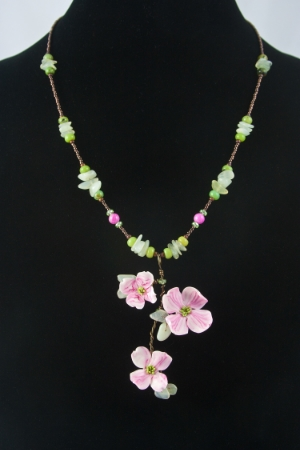Flowering Dogwood pendant