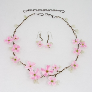 Pink Flowering Dogwood set
